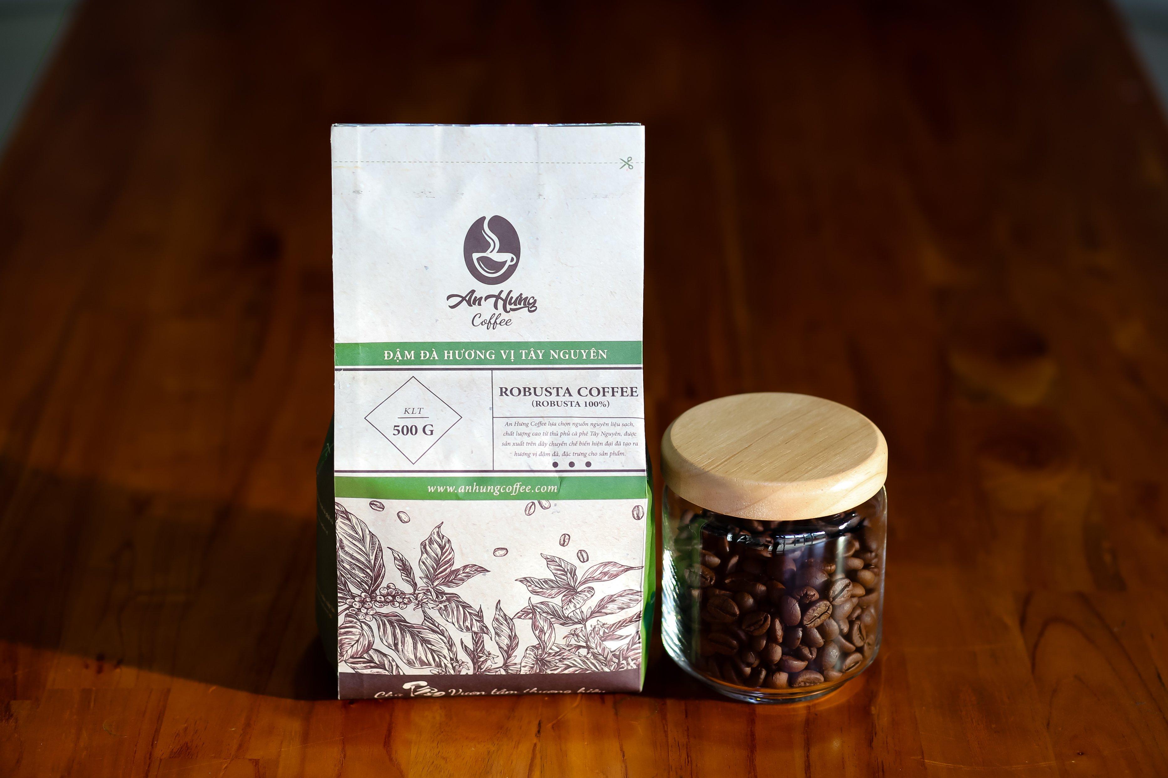 cà phê robusta hương vị đạm đà